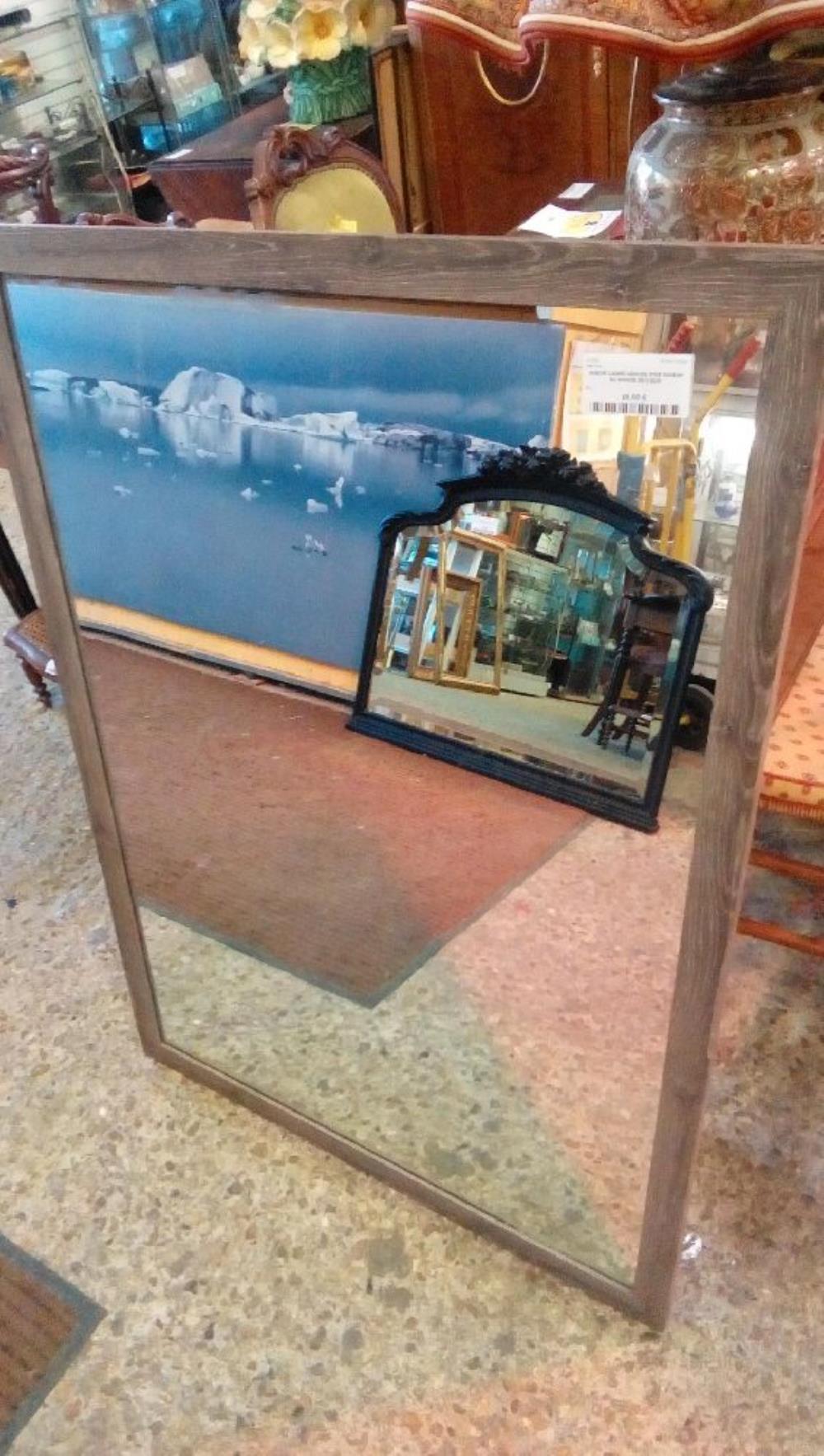 Miroir Cadre Ceruse Gris Maison Du Monde 80 112cm Occasion Troc De