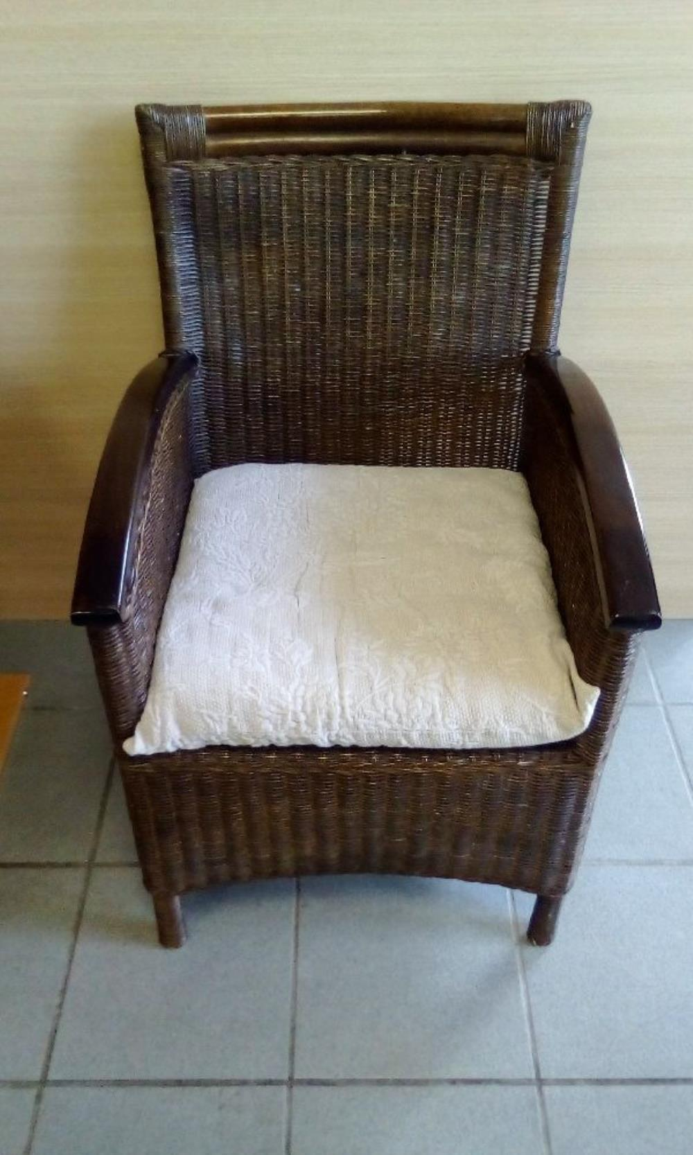 FAUTEUIL ROTIN occasion - Troc Bourges
