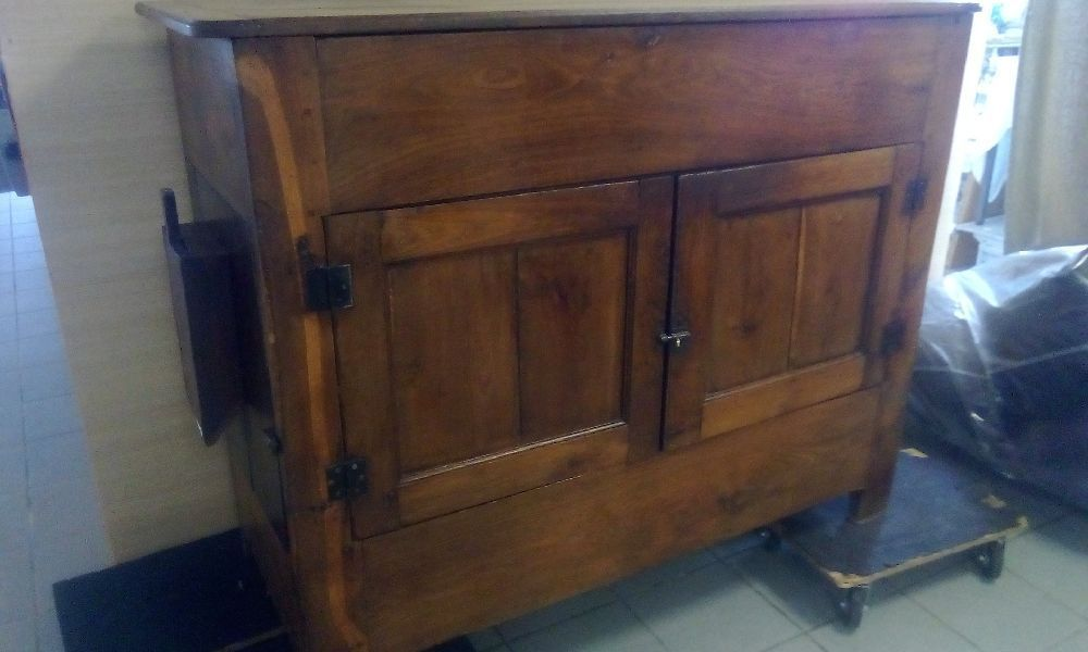 BUFFET HAUT CHENE ANCIEN MOULIN A GRAIN