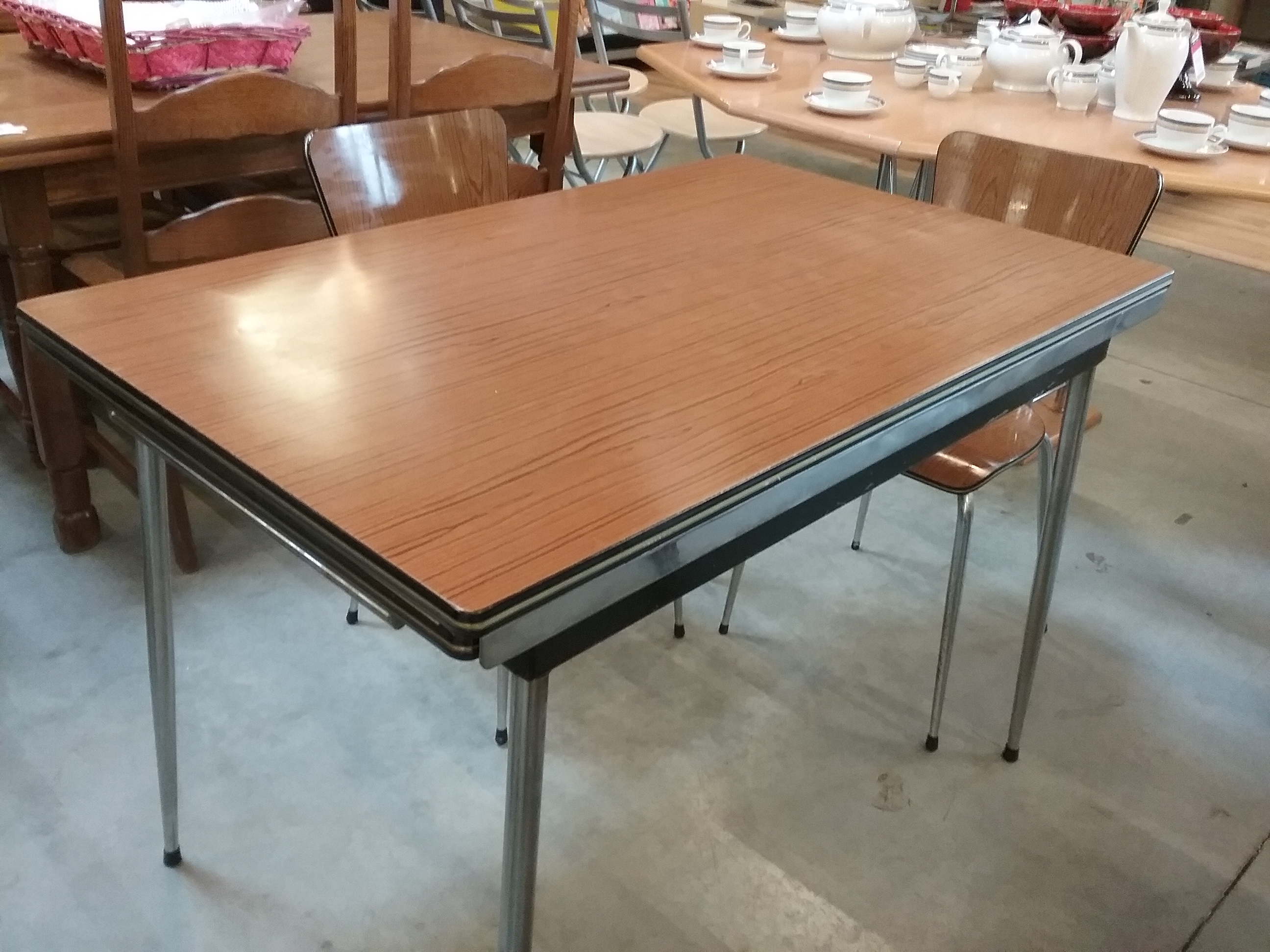 Table Formica Brune 2all Occasion Eco Cash