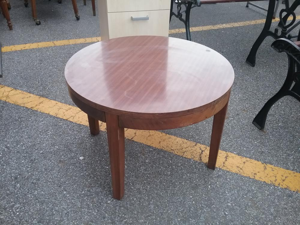 bas prix d5885 8b19d TABLE BASSE RONDE VINTAGE occasion - Eco Cash