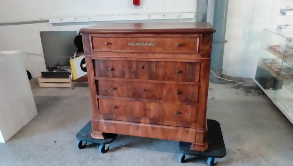 Commode Style Louis Philippe 6 Tiroirs Occasion Troc Cash