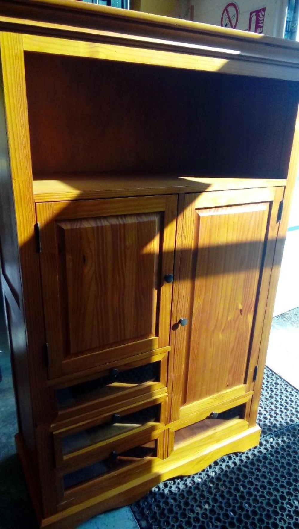 armoire chambre enfant en pin occasion - planète troc