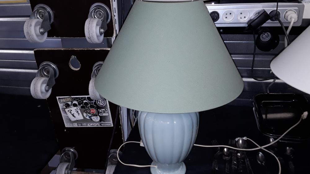A Troc34 Poser O Occasion Verte Lampe N8PXkOn0w