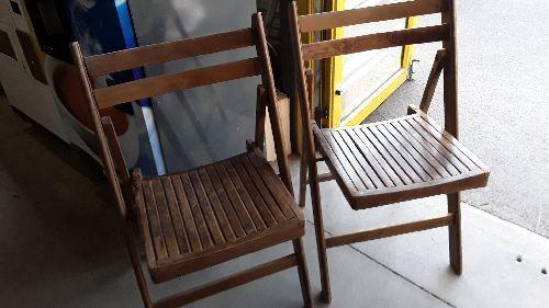 chaise pliante bois occasion o troc34