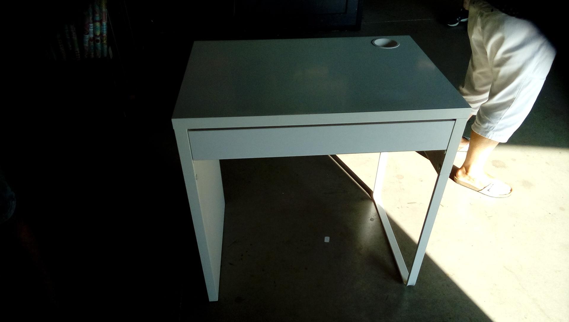 Bureau blanc tiroir occasion o troc34