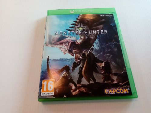 JEU XBOX ONE MONSTER HUNTER
