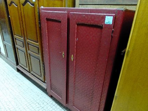 ARMOIRE ROUGE 2P
