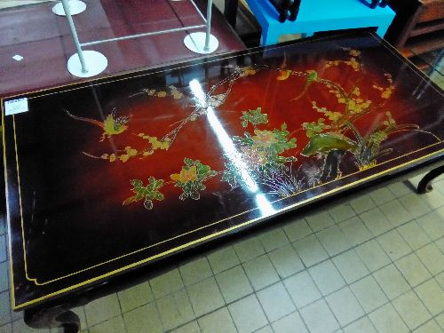 TABLE BASSE RECTANGLE CHINOISE