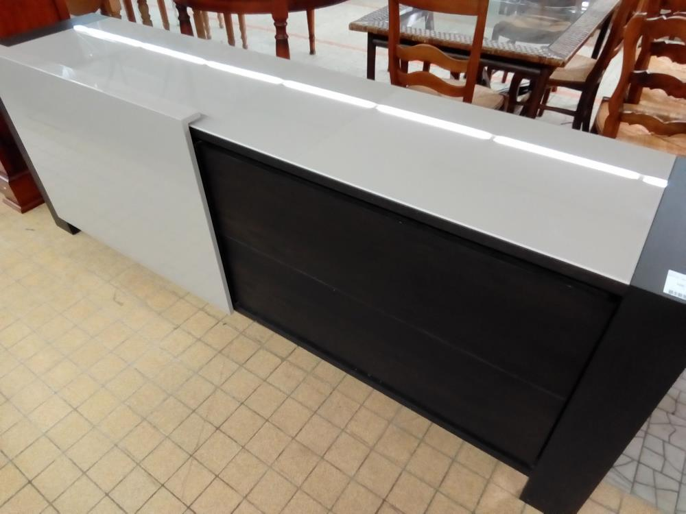 BUFFET BAS MODERNE 1P COULISSANTE