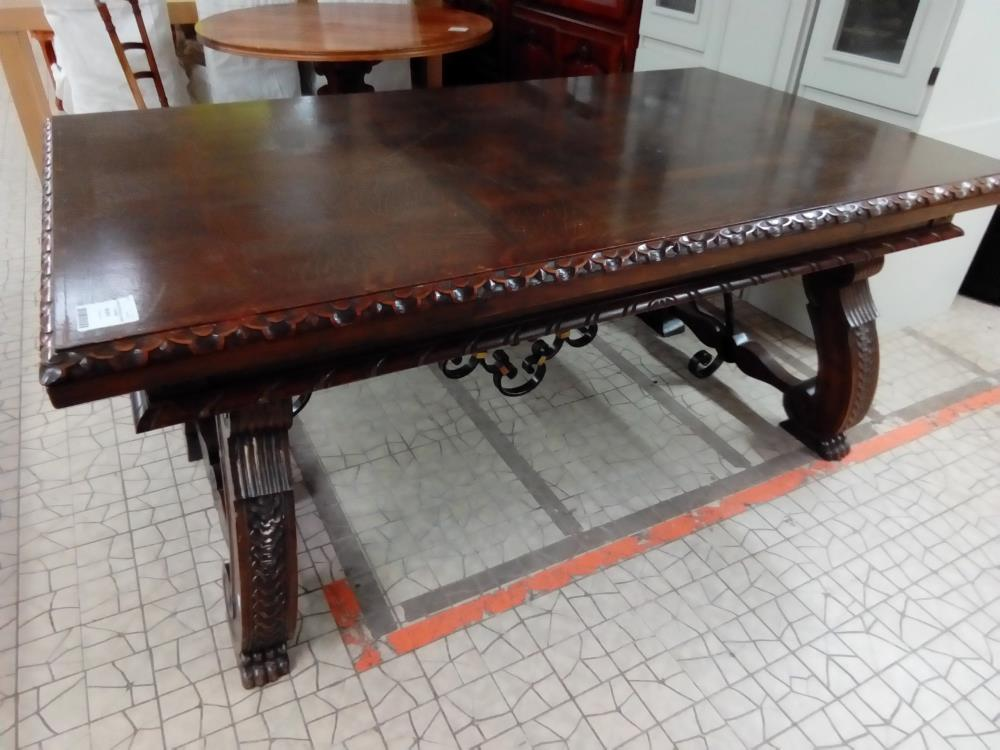 TABLE RECTANGLE CHENE ITALIENNE