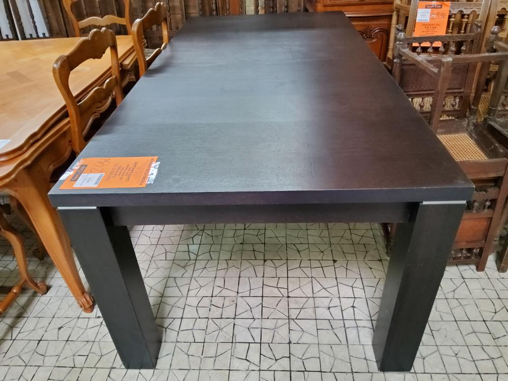 TABLE RECTANGLE C WENGÉ 2 ALL