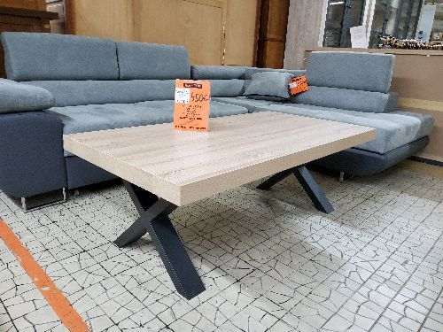 TABLE DE SALON MARNIX SL1805 130 CM FRENSH OAK