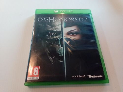 JEU XBOX ONE DISHONORED 2