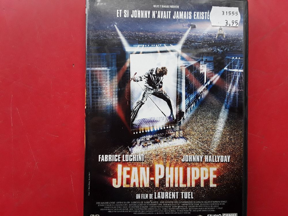 DVD JEAN PHILIPPE JOHNNY HALLYDAY LUCHINI 3259130230987