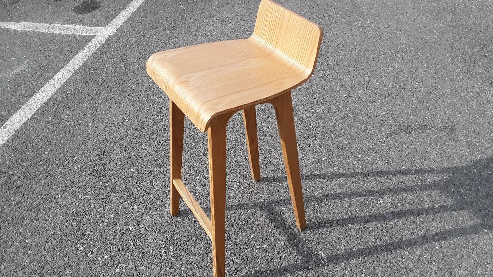 tabouret de bar fixe design scandinave cm baltik occasion troc annecy. Black Bedroom Furniture Sets. Home Design Ideas
