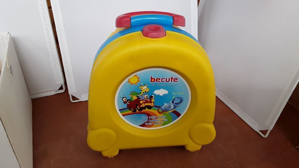 POT TOILETTES PORTABLES ENFANT VOITURE BECUTE THE HANDY POTTY 6935848900011