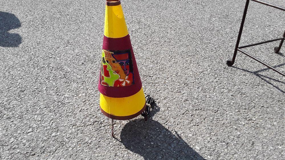 Abat Troc De Papier Annecy Jour Abstrait Chevet Occasion Lampe Art TuOXZliwPk
