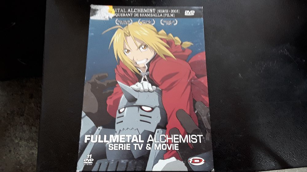 DVD FULLMETAL ALCHEMIST SERIE TV & MOVIE 5413505306549