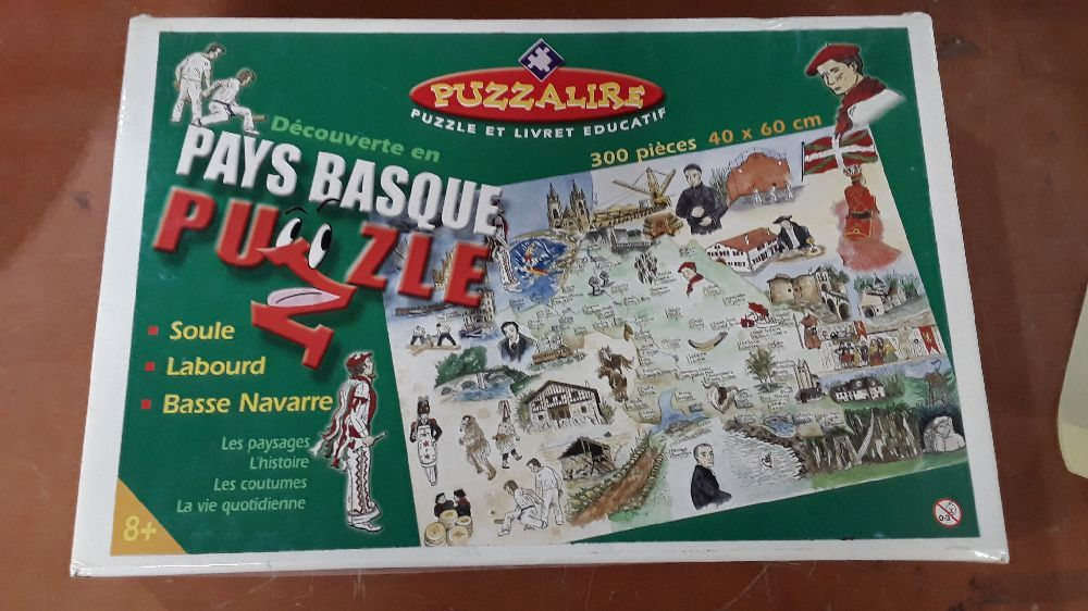 PUZZLE PUZZALIRE PAYS BASQUE 300 PIECES 40X60 CM