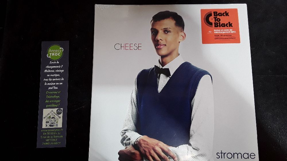 STROMAE CHEESE VINYLE 33T 2014 BACK TO BLACK 602537729753