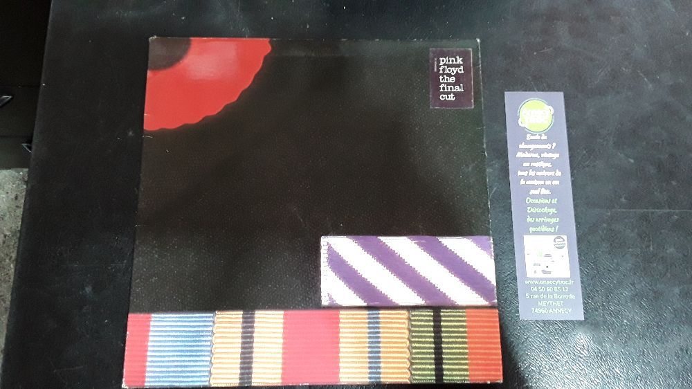 PINK FLOYD THE FINAL CUT VINYLE 33T LP 2C 070-65042