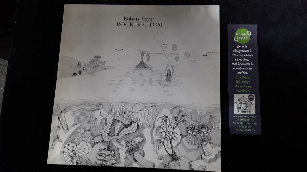 ROBERT WYATT ROCK BOTTOM RUTH IS STRANGER THAN RICHARD 60 017 VINYLE 33T