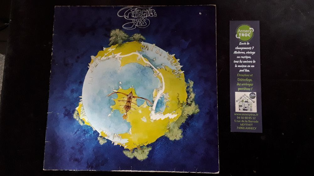 YES FRAGILE ATL 50 009 VINYLE 33T LP