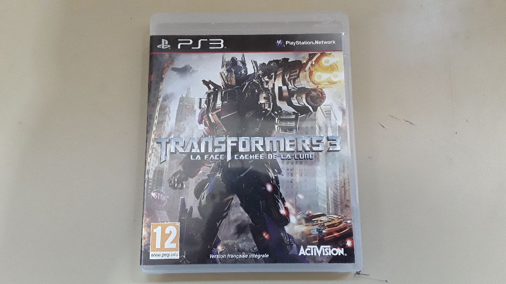 JEUX PS3 TRANSFORMERS 3 LA FACE CACHÉ DE LA LUNE