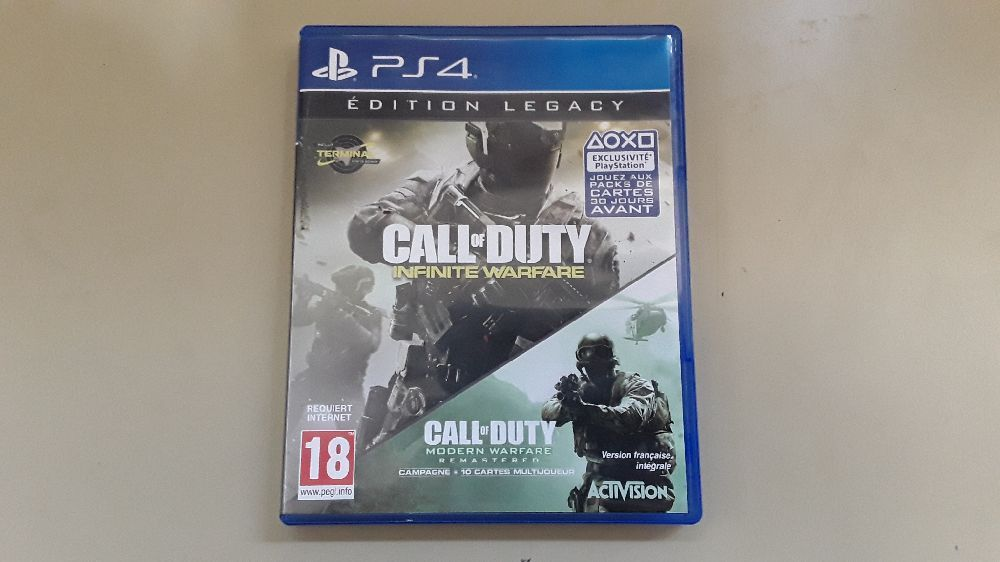 JEUX PS4 CALL OF DUTY INFINITE WARFARE LEGACY EDITION