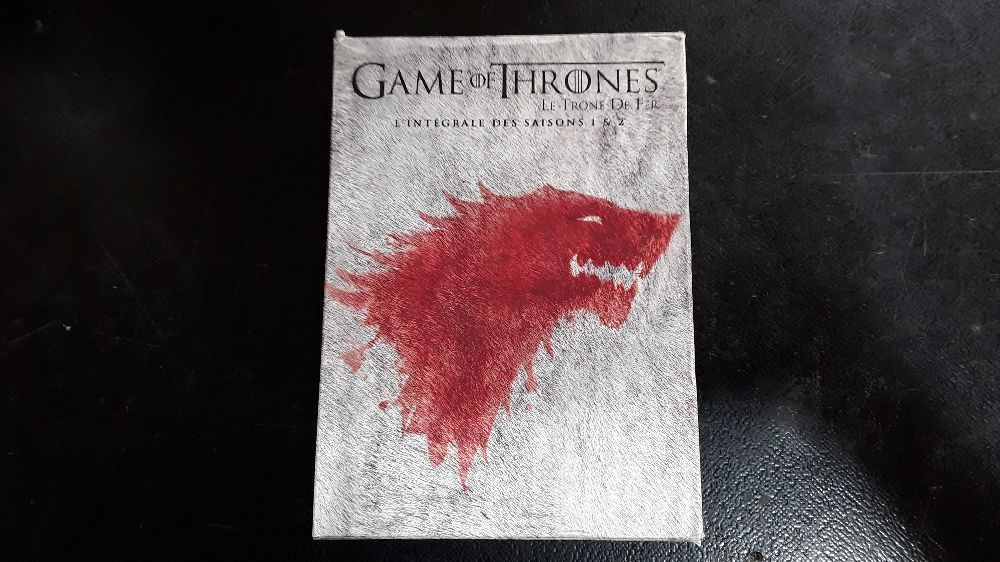 COFFRET DVD GAME OF THRONES SAISON 1 ET 2