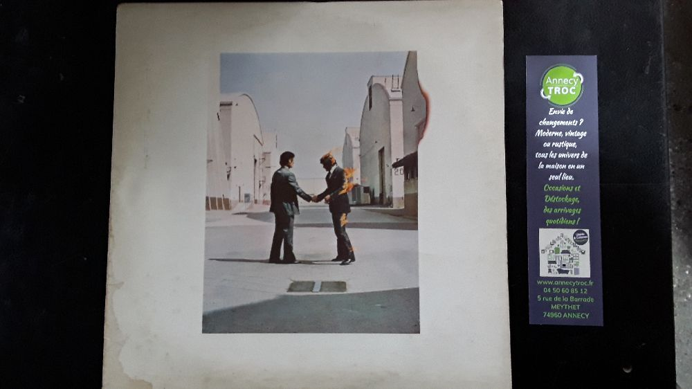 PINK FLOYD WISH YOU WERE HERE VINYLE 33T LP HARVEST 2C068-96918