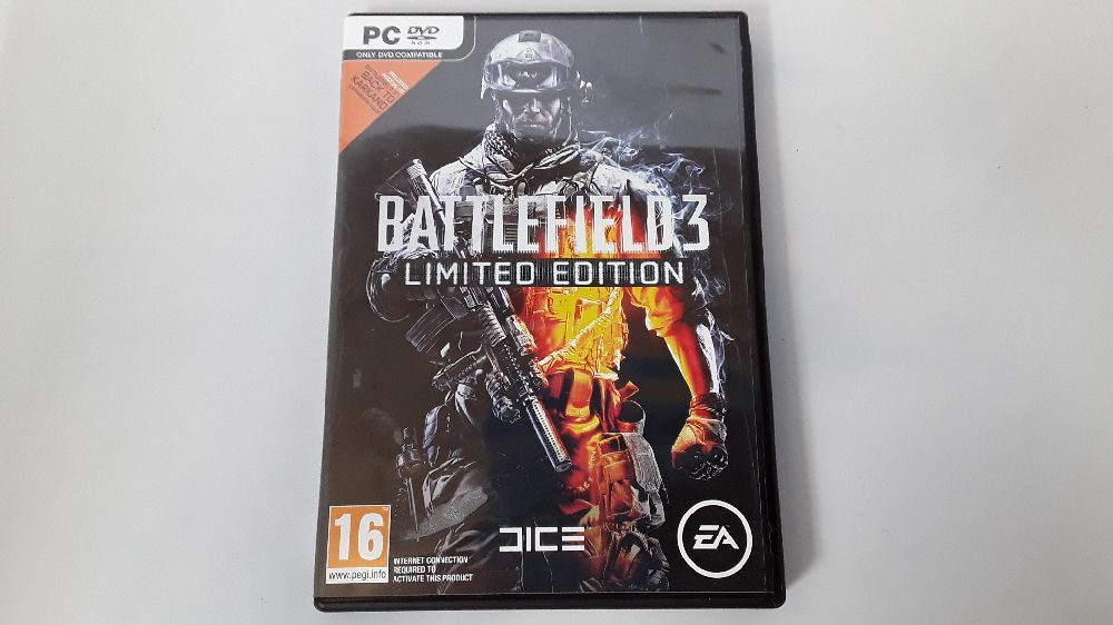 JEU PC BATTLEFIELD 3 LIMITED EDITION 5030931048326