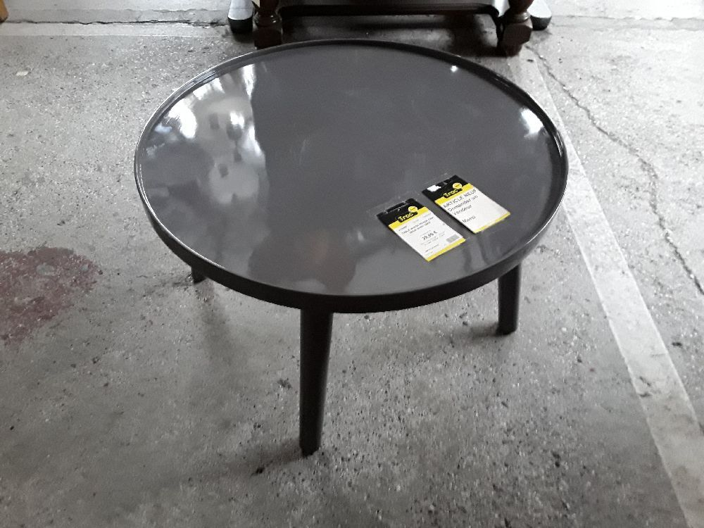TABLE BASSE RONDE DISK 60 CM