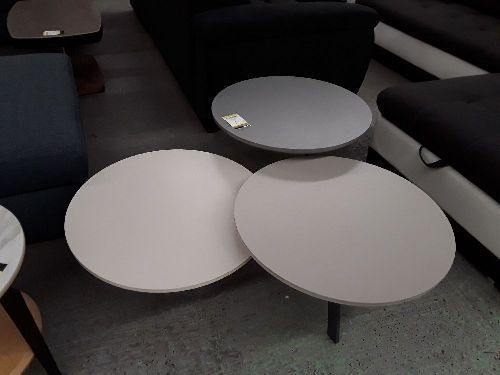 TABLE BASSE  3 RONDS