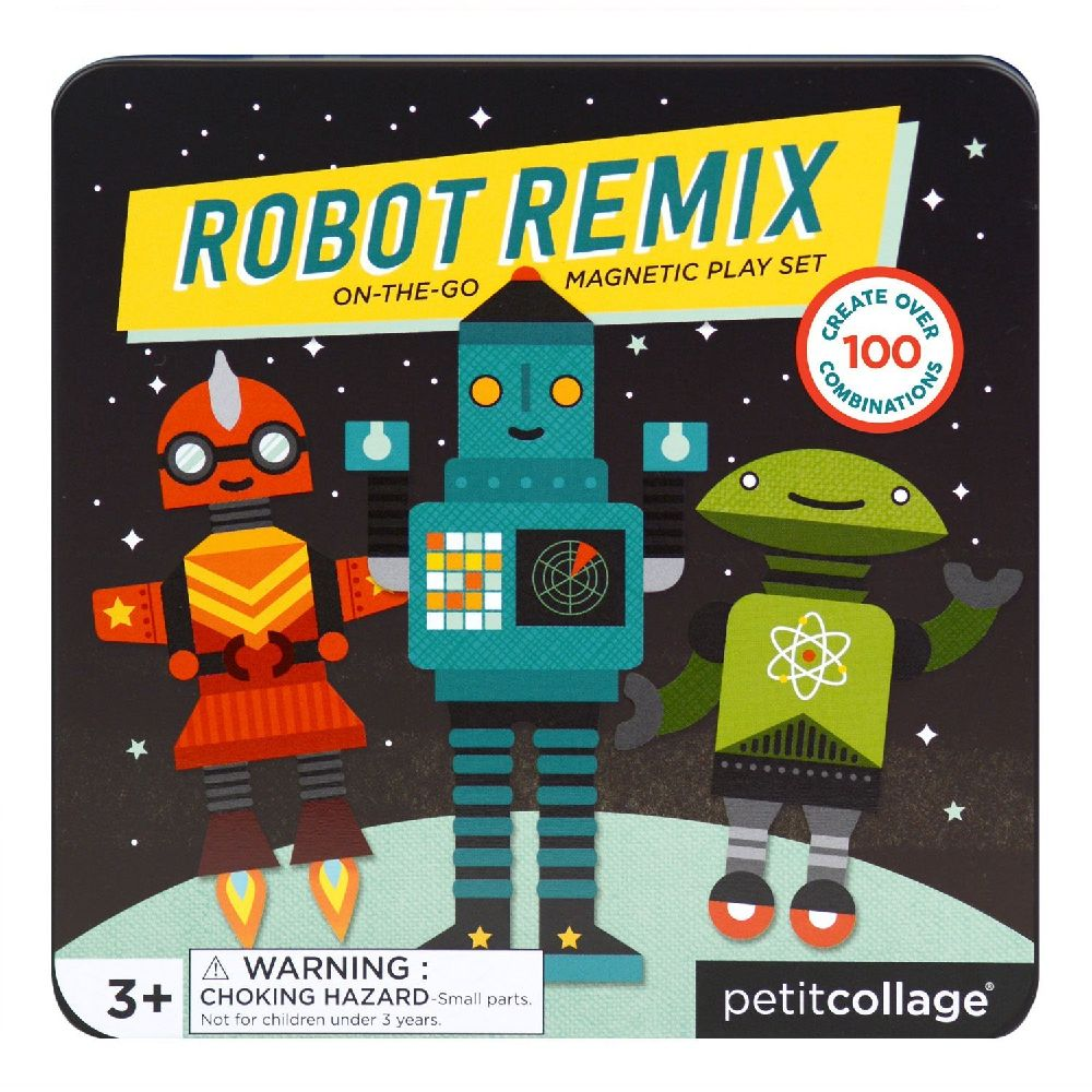 ROBOT REMIX PETITCOLLAGE